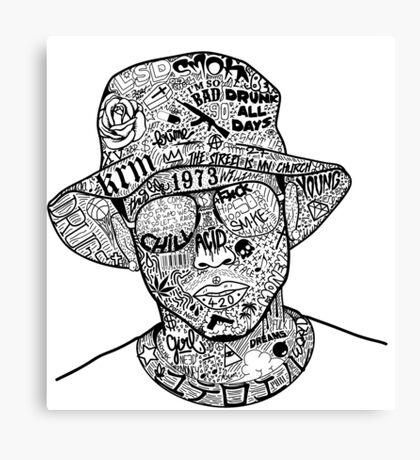 Gangster Canvas Print