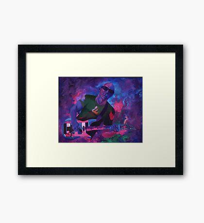 Satch Framed Print