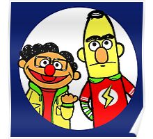 Leonard and Sheldon Muppets Poster