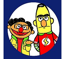Leonard and Sheldon Muppets Photographic Print
