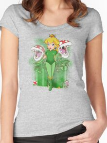 Poison Peach Women's Fitted Scoop T-Shirt