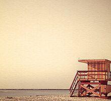 Beach Lifeguard Hut by fernblacker