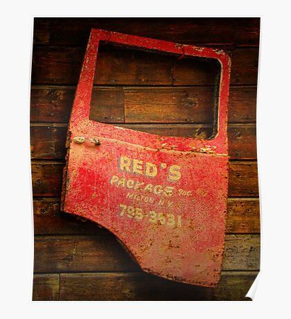 Reds Advertising Poster