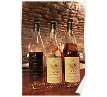 Cognac tasting in a La Rochelle cellar Poster