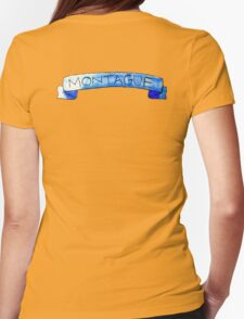 Montague banner Womens Fitted T-Shirt