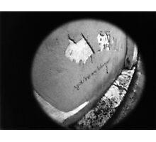 You're My Wonder (Graffiti) Wall - Lomo Photographic Print