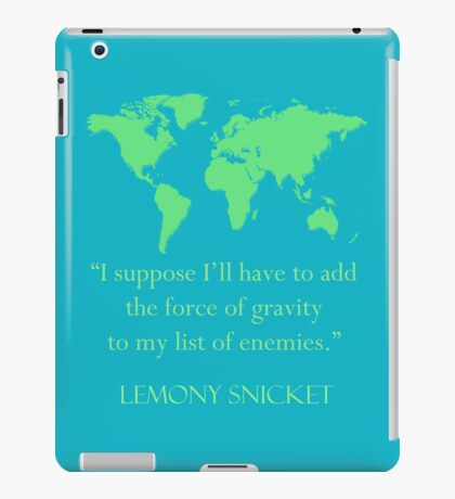 gravitational enemies iPad Case/Skin