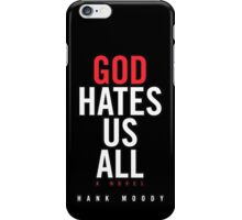 Hank Moody Book iPhone Case/Skin
