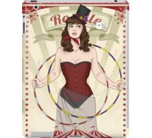 Roselle the hoop dancer iPad Case/Skin