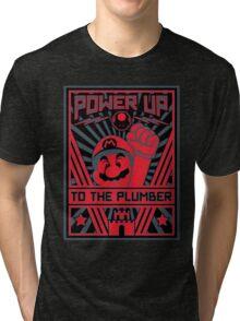 Plumber Propaganda Tri-blend T-Shirt