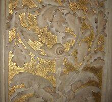 The golden Snail by LemonLion