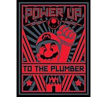 Plumber Propaganda Photographic Print