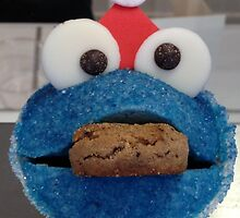 Christmas Cookie Monster by LemonLion