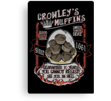 Muffins ♥ Canvas Print
