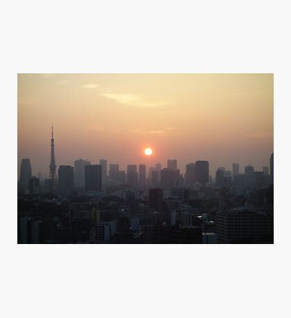 Tokyo Sunrise  Photographic Print