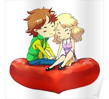 Chibi love Poster