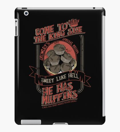 Crowley's Muffins 2 iPad Case/Skin