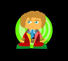 Doctor Blocks (6th Doctor) by SCoffin