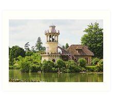Versailles Queen's Hamlet 1 Art Print
