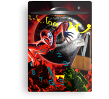 entropy at the end of time Metal Print