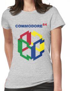 Commodore 64 Nintendo Mashup Womens Fitted T-Shirt