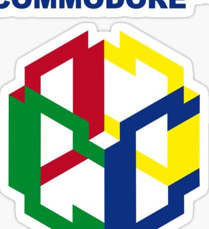 Commodore 64 Nintendo Mashup Sticker