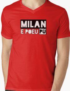 Milan e poeu pù Mens V-Neck T-Shirt