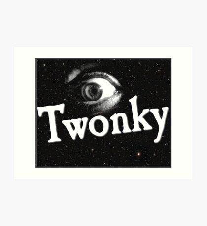 Eye Twonky Art Print