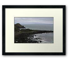 Giant's Causeway in County Antrim Ireland Framed Print