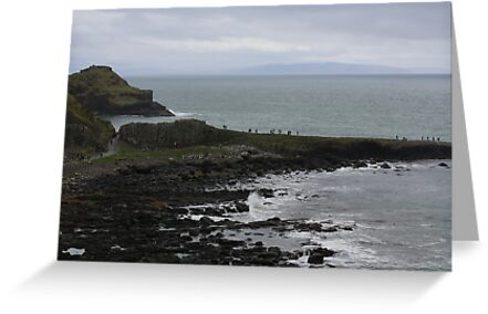 Giant's Causeway in County Antrim Ireland by Ren Provo