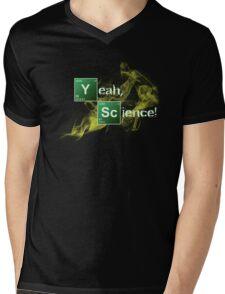 Yeah, Science! Mens V-Neck T-Shirt
