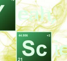 Yeah, Science! Sticker