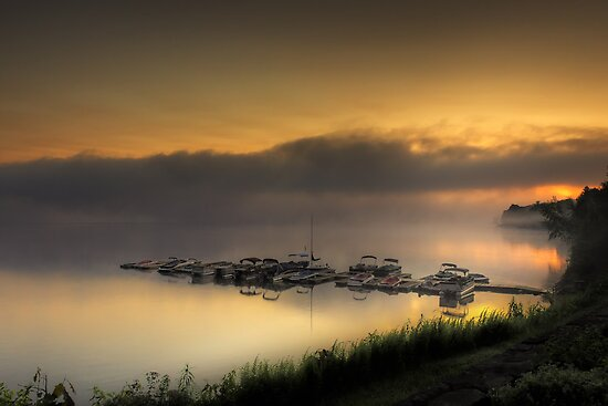 Morning Marina by Joseph T. Meirose IV