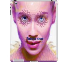 take a seat iPad Case/Skin