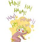 Born To Laugh by Nikita Horridge