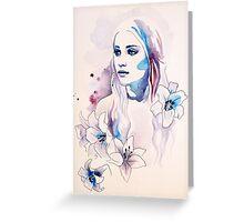 Khaleesi Greeting Card