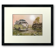 ...sometimes I must get out in the light Framed Print