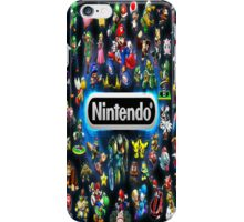 Retro Nintendo Characters iphone Case iPhone Case/Skin
