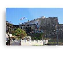 La Fortaleza in San Juan Puerto Rico Metal Print