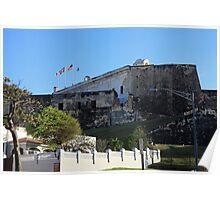 La Fortaleza in San Juan Puerto Rico Poster