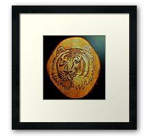 Tiger Portrait. Framed Print