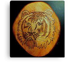 Tiger Portrait. Canvas Print