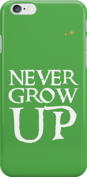 Never Grow Up by Rechenmacher