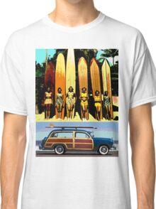 Cool Babes & Hot Rod Classic T-Shirt