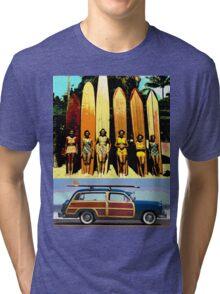Cool Babes & Hot Rod Tri-blend T-Shirt