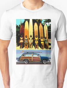 Cool Babes & Hot Rod Unisex T-Shirt