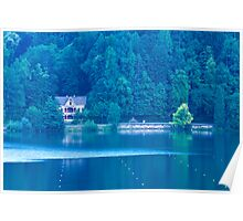 View across Lake Bled Poster
