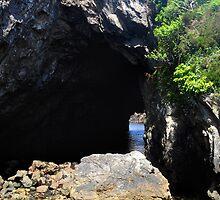 Cave on Beara Peninsula by Karin  Funke