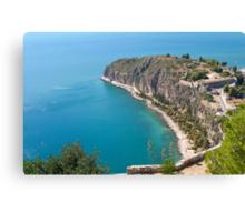 Nafplio Peninsula Canvas Print