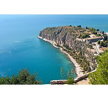 Nafplio Peninsula Photographic Print